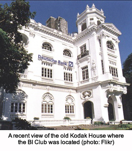 A recent view of the old Kodak House where the BI Club was located (photo: Flikr)