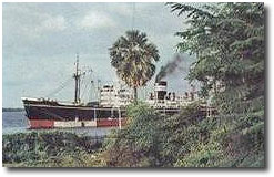 Chakdara at Trincomalee, from a cover photo for BI News, Jan 1967