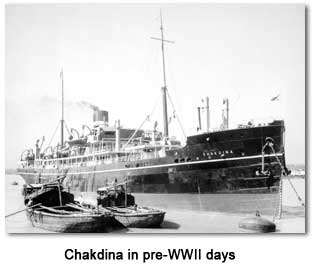 Chakdina in pre-World War II days