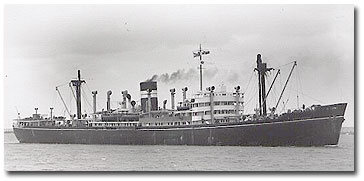 Chyebassa was the first of what would become BI's 13-strong, C class cargoships. Built in 1942, the twin-screw Chyebassa continued in BI's fleet until demolition in 1969