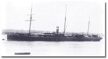 Merkara - owned by British India Associated Steamers and Gray, Dawes 1875-1894