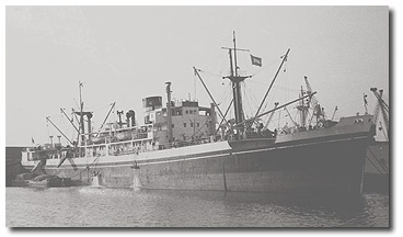 Warora (BI 1948-1964), one of a pair of ships built for Calcutta-Japan cargo service